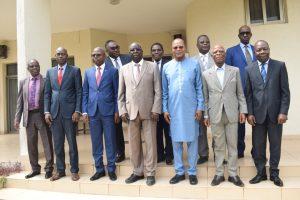 Dr Ibn Chambas a rendu visite à la Cour constitutionnnelle