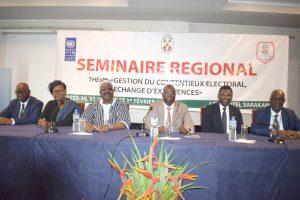 Les présidents des institutions constitutionnelles de la sous région