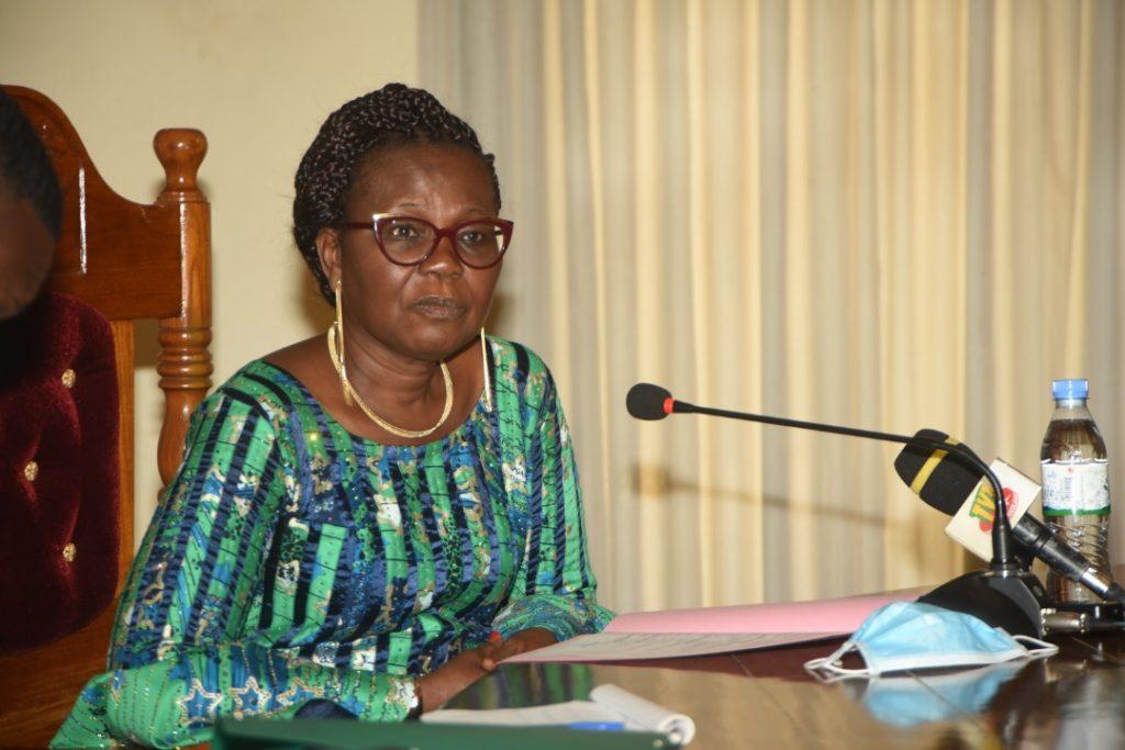 Visite de travail de la Présidente de la Haute Cour de Justice du Bénin à la Cour constitutionnelle